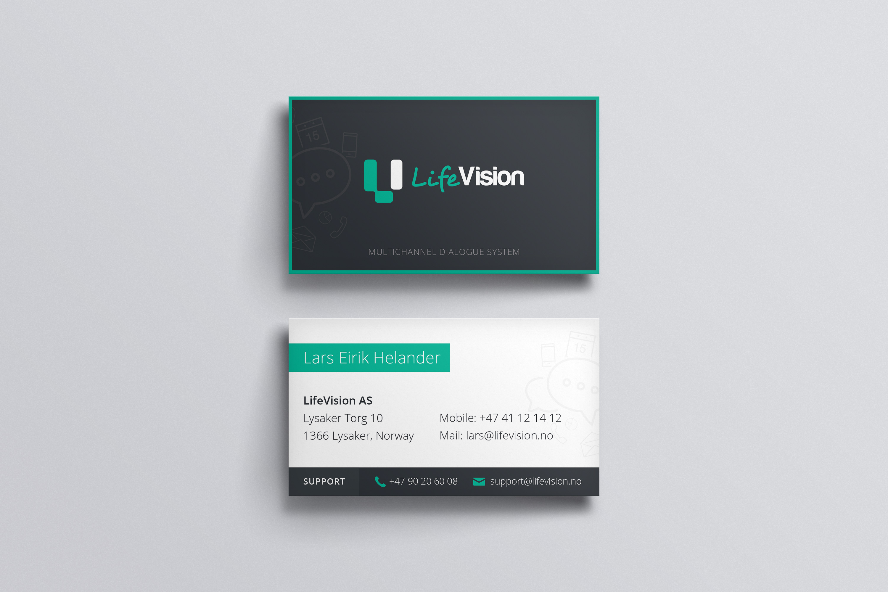 LifeVision (business cards)